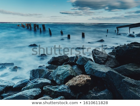 foggy coast stock photo © SKVORTSOVA