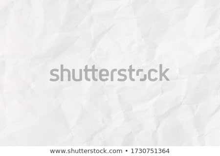 White wrinkled paper Stock photo © Fyuriy