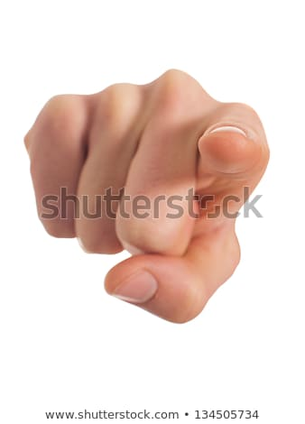 Hands with thumbs up and a finger point to you stock photo © Pasiphae