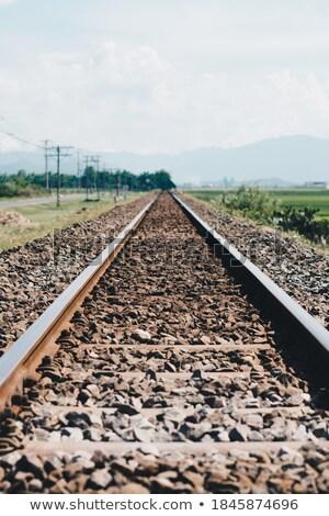 diminishing electric railway Stock photo © Mikko
