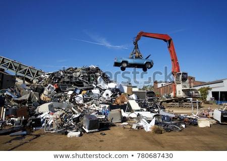 автомобилей · металл · смерти · судно · ржавчины · сломанной - Сток-фото © arenacreative