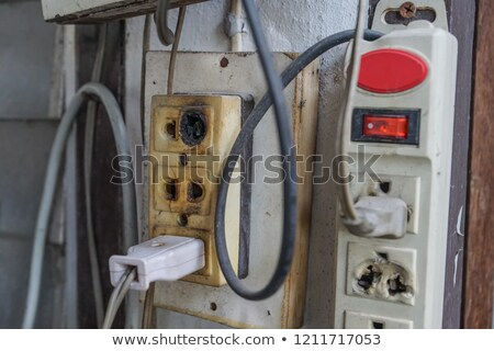 Dirty Electrical Outlet