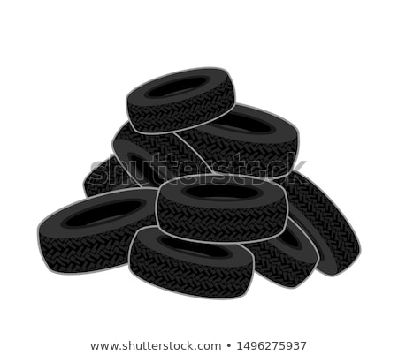 Waste tires Stock photo © stevanovicigor