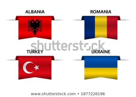 набор Кнопки Украина красочный Сток-фото © flogel