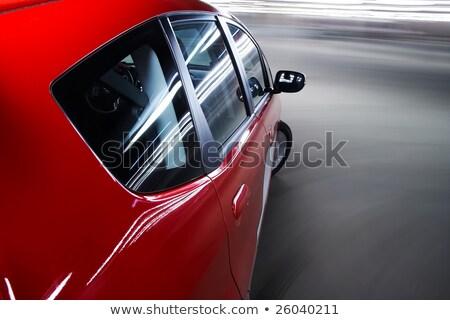 Autópálya autó mozgás sietség üzlet út Stock fotó © meinzahn