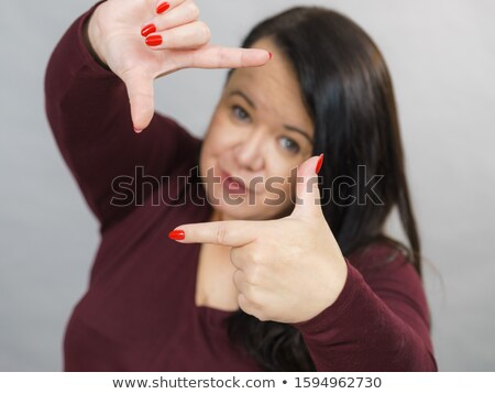 Mulher madura quadro dedos mulher sapato Foto stock © bmonteny