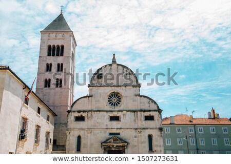 Stockfoto: Kerk · gebouw · bouw · glas