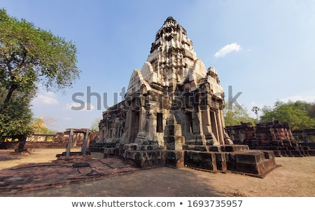 Khmer temple detail Stock photo © prill