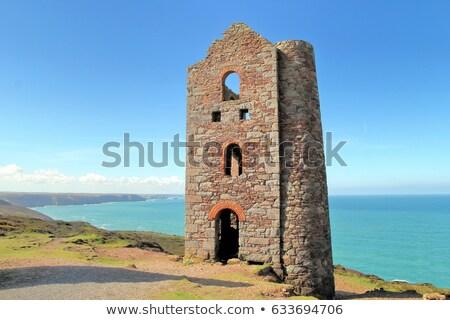 Stock photo: Wheal Coates tin mine Cornwall