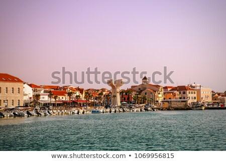パノラマ · 旧市街 · 1泊 · クロアチア · 建物 · 市 - ストックフォト © master1305