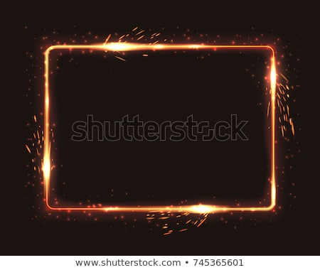 Fire Frame Stock photo © unkreatives