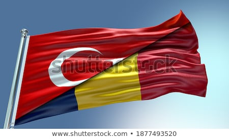 Turkey and Chad Flags Stock photo © Istanbul2009