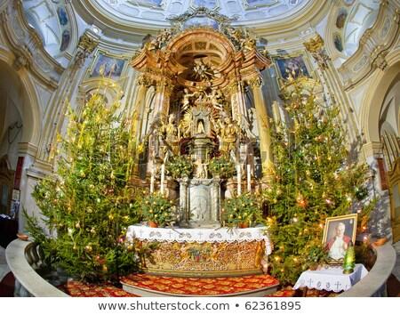 iç · hac · kilise · Polonya · seyahat · binalar - stok fotoğraf © phbcz