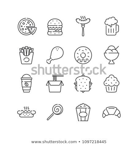 icon · vector · geïsoleerd · witte - stockfoto © rastudio