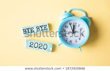 Clock and word ABC Stock photo © fuzzbones0