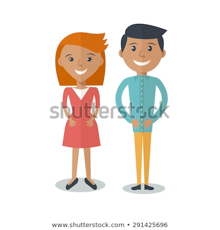 Fiatal gyengéd pár férfi nő szeretet Stock fotó © iordani