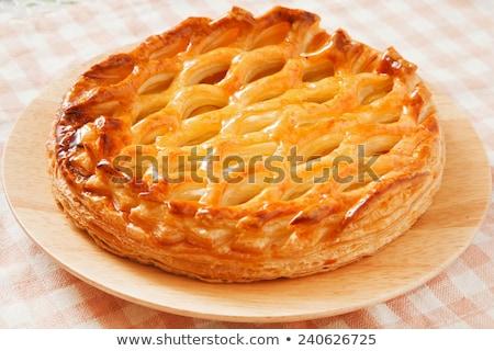 apple pie, tarte tatin Stock photo © M-studio