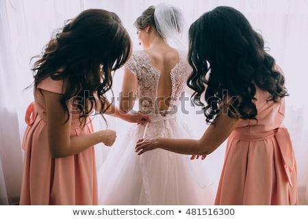 Bride getting ready for wedding Stock photo © wavebreak_media
