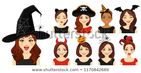 emotional young women witches stock photo © deandrobot