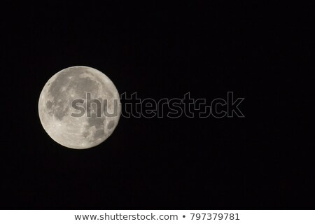 Supermoon with Text Space on Right stock photo © suerob