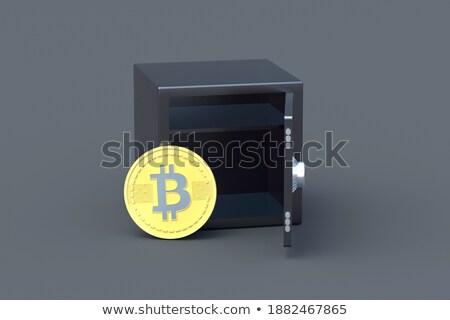 Valuta veilig opslag web geld business Stockfoto © MaryValery
