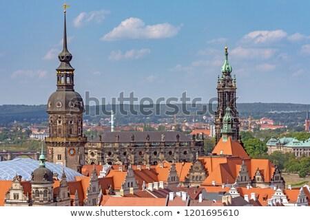 Dresda rezidential castel Germania clădirilor Imagine de stoc © manfredxy
