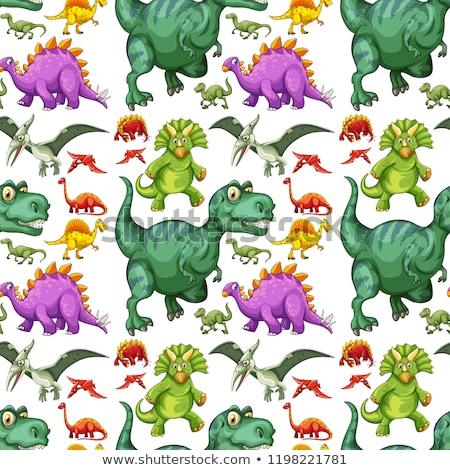 Dinossauro ilustração projeto fundo Foto stock © bluering