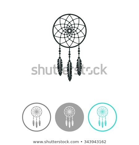 vector indian dream catcher symbol Stock photo © freesoulproduction