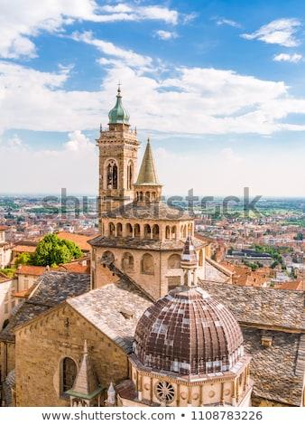 Duomo di Bergamo in Italy Stock photo © boggy