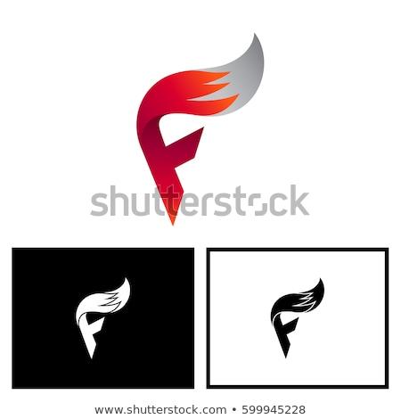A letter F for fox Stock photo © colematt