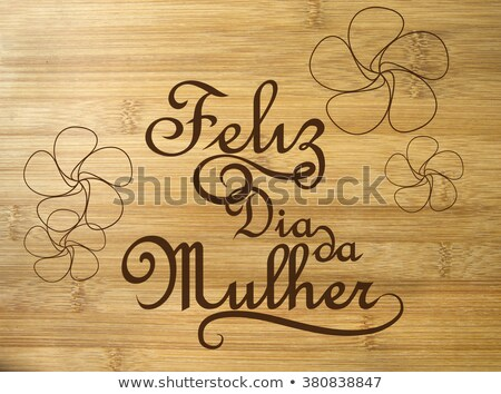 Mother's day greeting card. Flowers for mother's da Stock photo © mythja