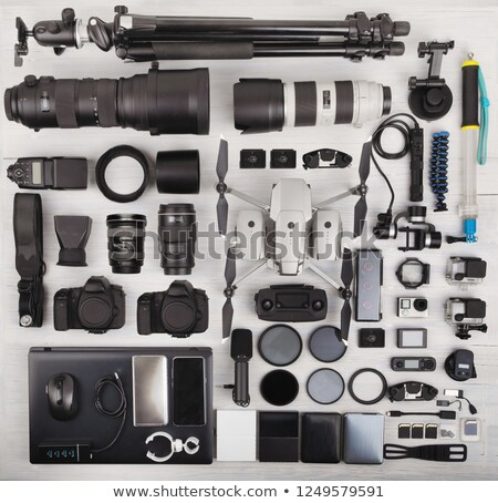 Modern Photographers with Professional Equipment Stock photo © robuart
