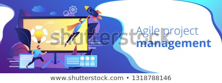 Agile project management concept banner header. Stock photo © RAStudio