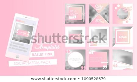 Сток-фото: маркетинга · современных · дизайна · стиль · красочный