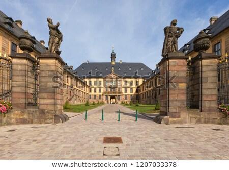 Alemania vista ciudad palacio jardín arte Foto stock © borisb17