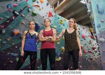 3  小さな アクティブ スポーツウェア 立って ストックフォト © pressmaster