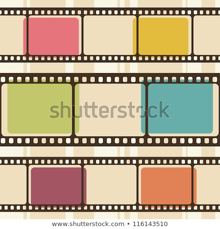 Film Strip For Retro Camera Color Vector Stock photo © pikepicture