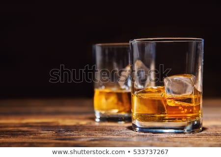 Drinking hard liquor Stock photo © pressmaster