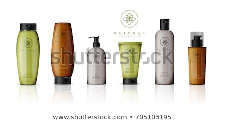 Shampooing corps conditionneur bouteille vecteur Photo stock © pikepicture