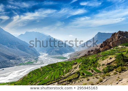 Valle himalaya India montagna neve montagna Foto d'archivio © dmitry_rukhlenko