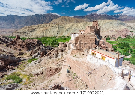 Buddha statue in Lamayuru monastery, Ladakh, India Stock photo © dmitry_rukhlenko