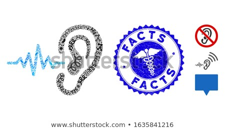 Medical facts Stock photo © lovleah