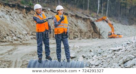 costruzione · lavoratori · autentico · costruzione - foto d'archivio © photography33
