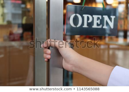 shopping enter key Stock photo © REDPIXEL