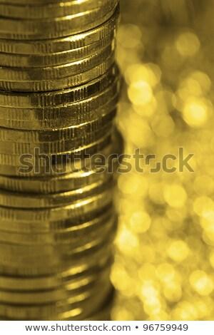 コイン · マクロ · ショット · お金 · 背景 - ストックフォト © moses