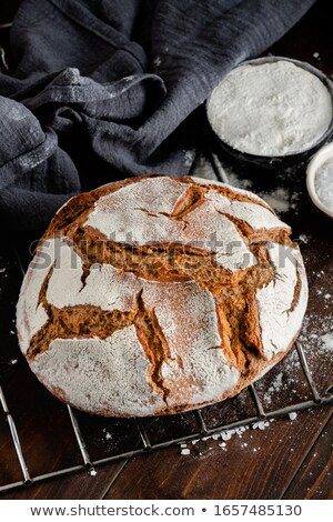 Fresh Baked Artisan Bread Stock photo © klsbear