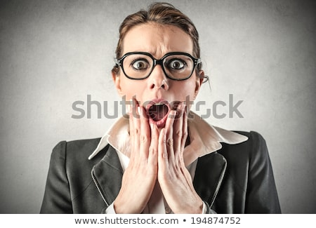 Scared businesswoman Stock photo © photography33