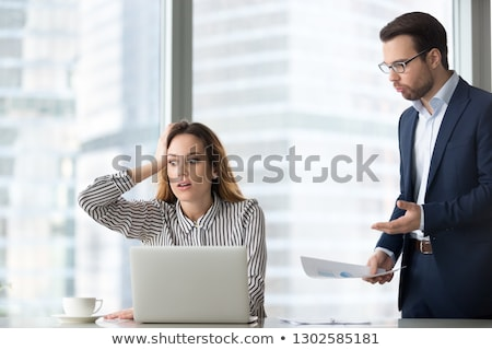 A forgetful secretary Stock photo © photography33