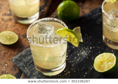 Kalk zout citrus taart zuur drinken Stockfoto © lisafx