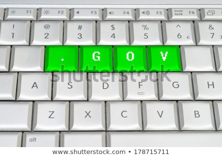 Internet top-level domain of United States Stock photo © perysty